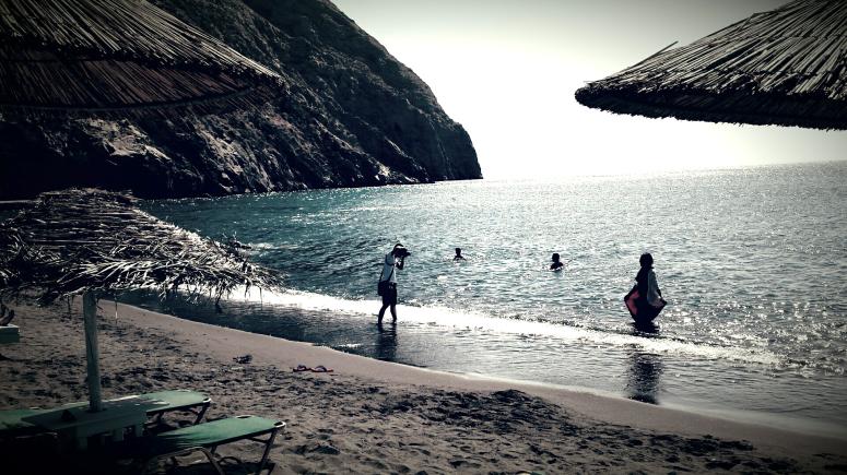 plage de périvolos - Santorin