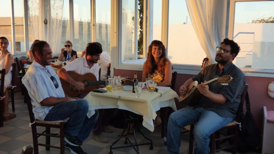 Soirée musique au Kipridarestaurant