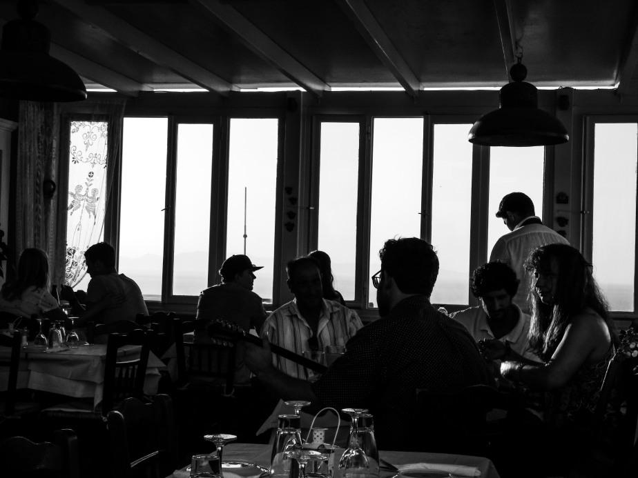 Restaurant Kiprida – Oia,juillet2017